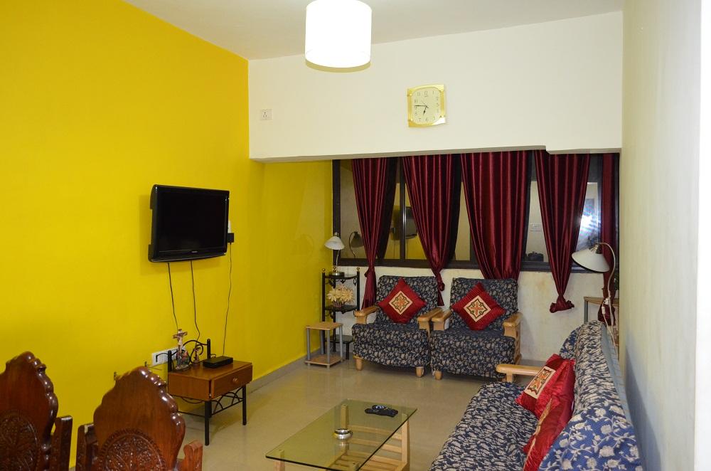 Deluxe 2BHK Calangute Apartment